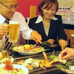 海鮮焼き&焼き鳥の手作り鉄板焼き体験☆ 訪日のご友人などと一緒に日本食文化を楽しんでみませんか