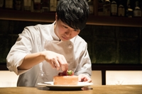 お菓子教室『梨と芋』(シャルロット オ ポワール、スイートポテト)※ランチ講習(前菜と食事)付き