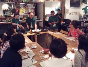【料理教室】渋谷駅から徒歩5分の料理教室です …