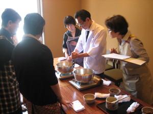 6月は「蛸の土鍋ご飯」「茄子と胡瓜のピリ辛味噌」「牛蒡とセロリのきんぴら」「そば出汁の作り方」